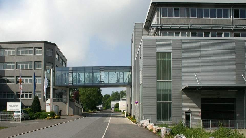 Schlüter-Systems: Der Hauptsitz in Iserlohn.