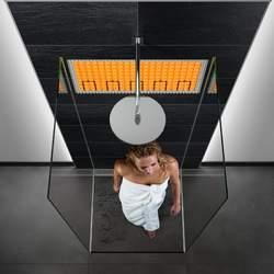 Ein neues Duscherlebnis: Warme Wandlfliesen in der Dusche mit DITRA-HEAT-E.